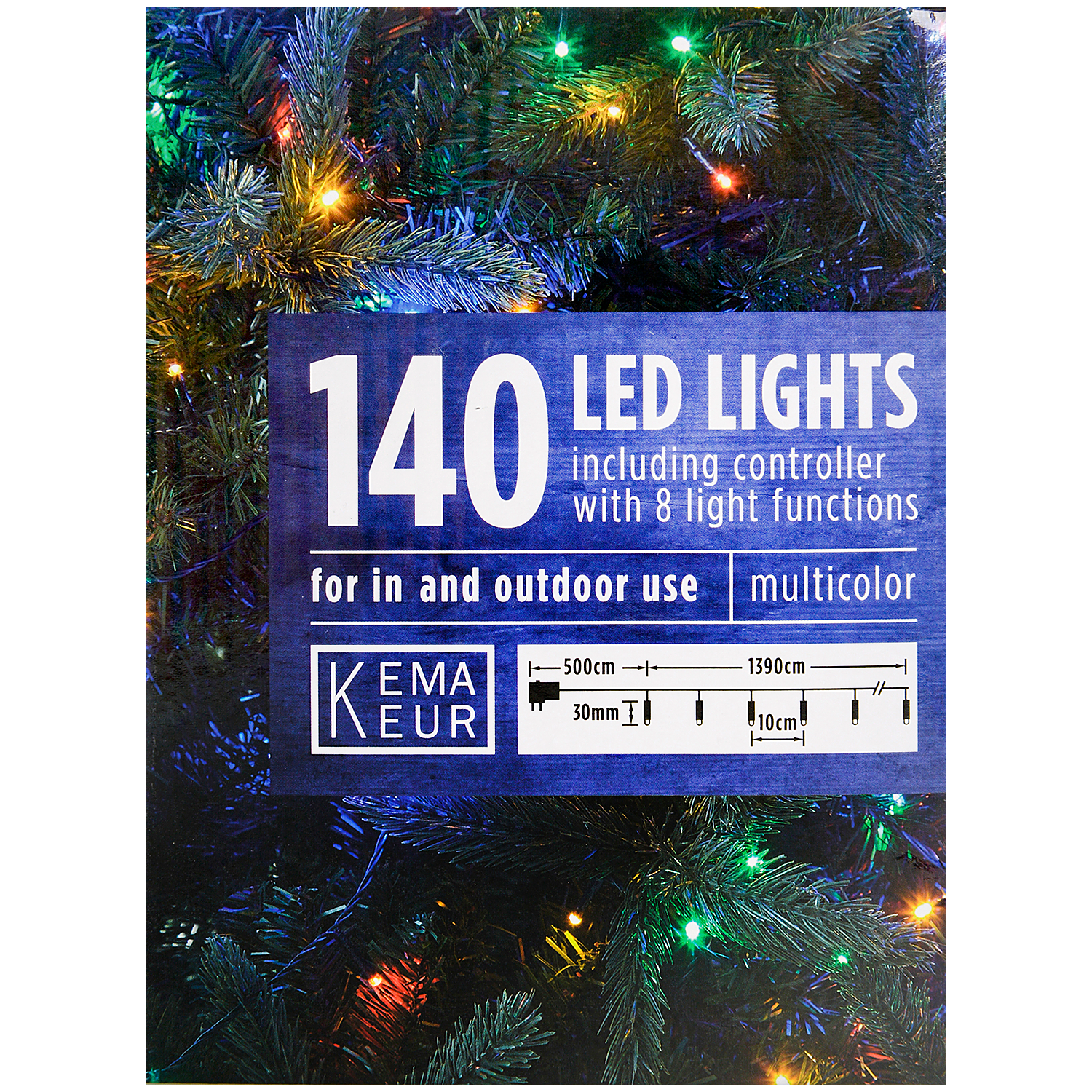 Kerstverlichting 140 ledlampjes | Action.com