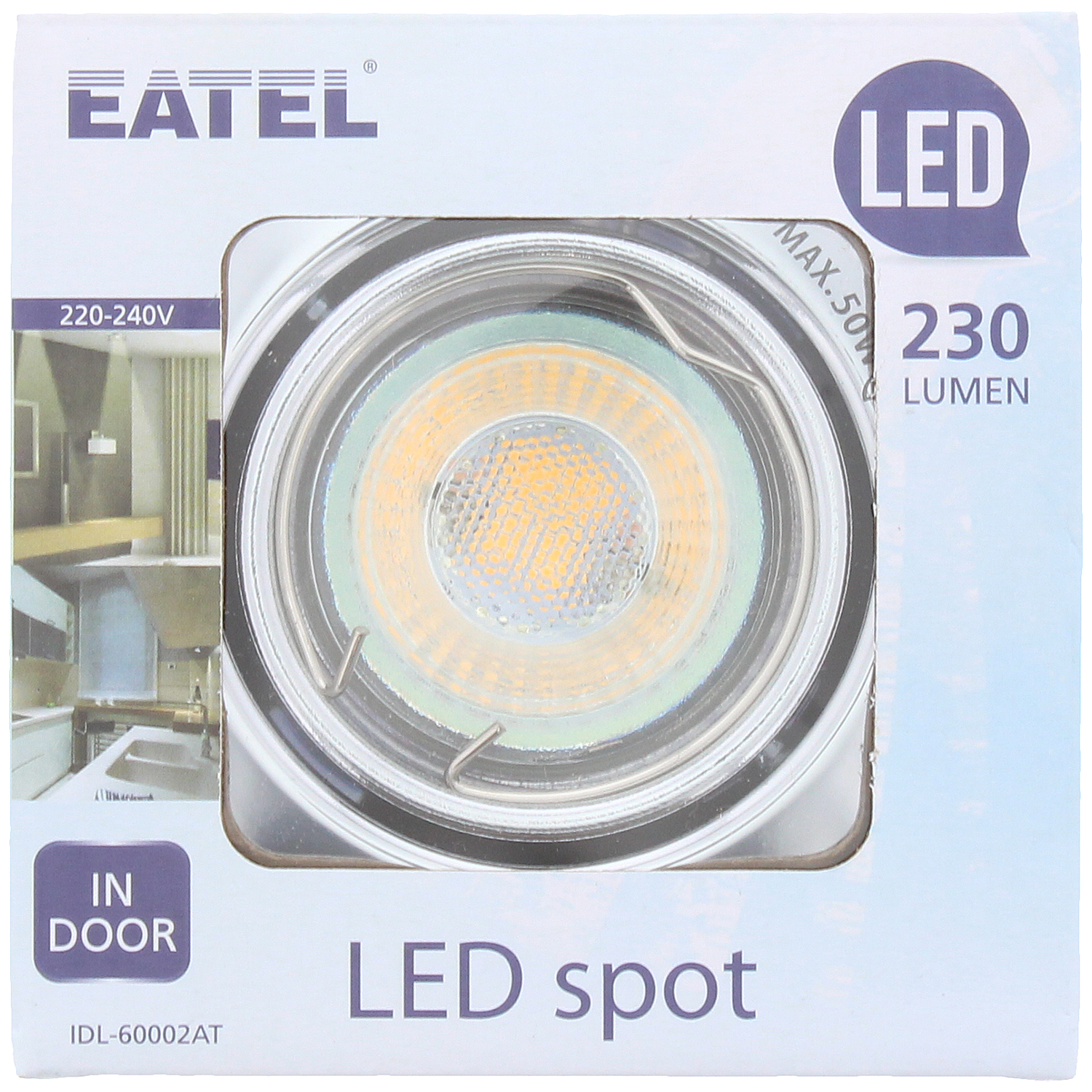 Eatel LED inbouwspot 230 lumen | Action.com