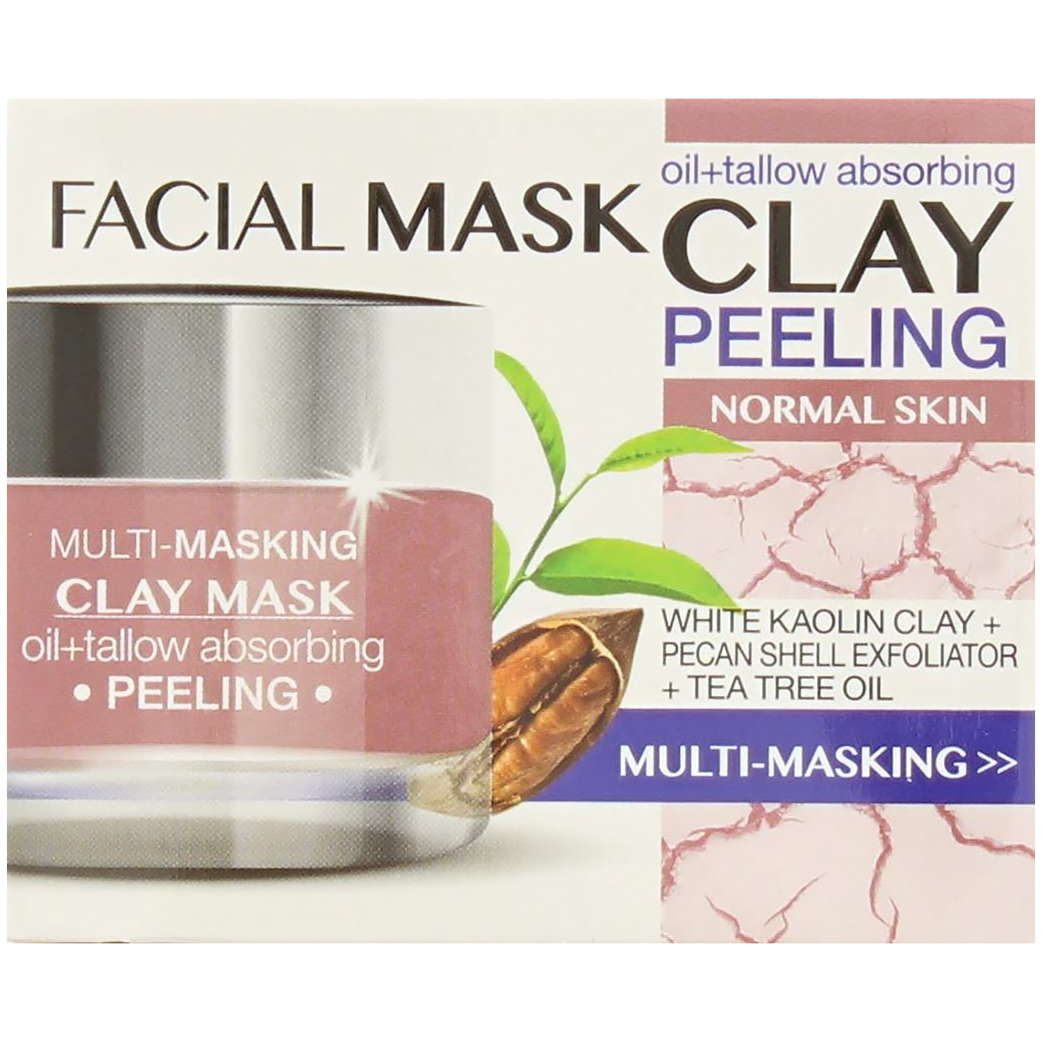 Facial Clay Mask van Action