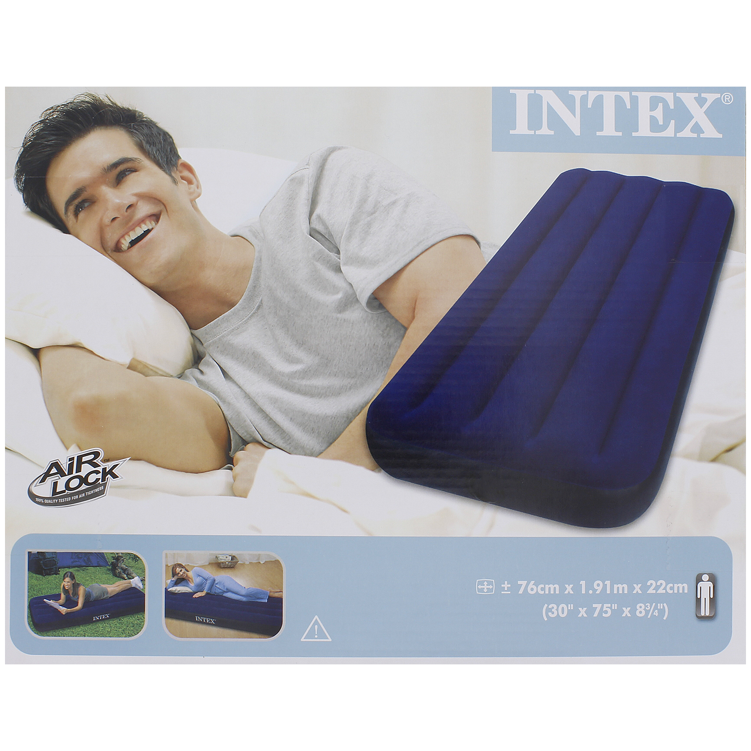 matelas gonflable intex action