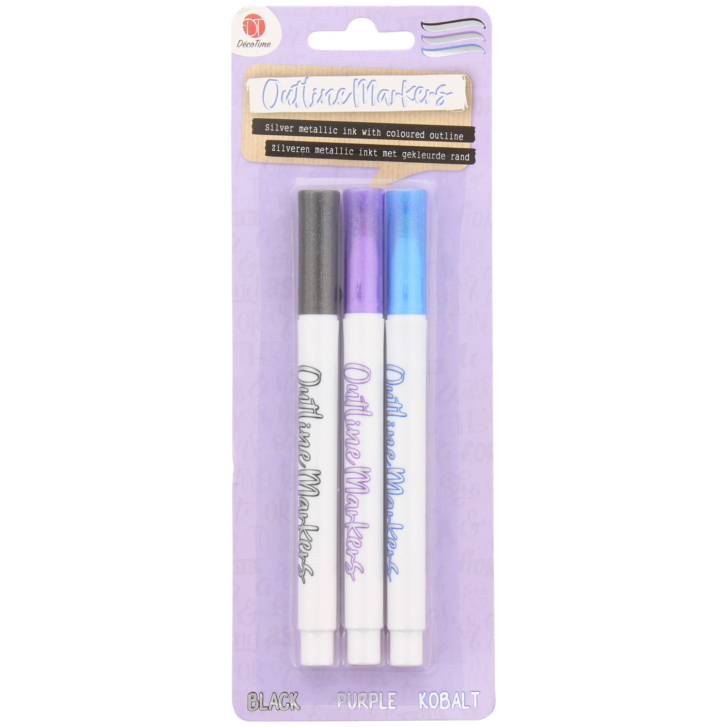 Decotime outline markers