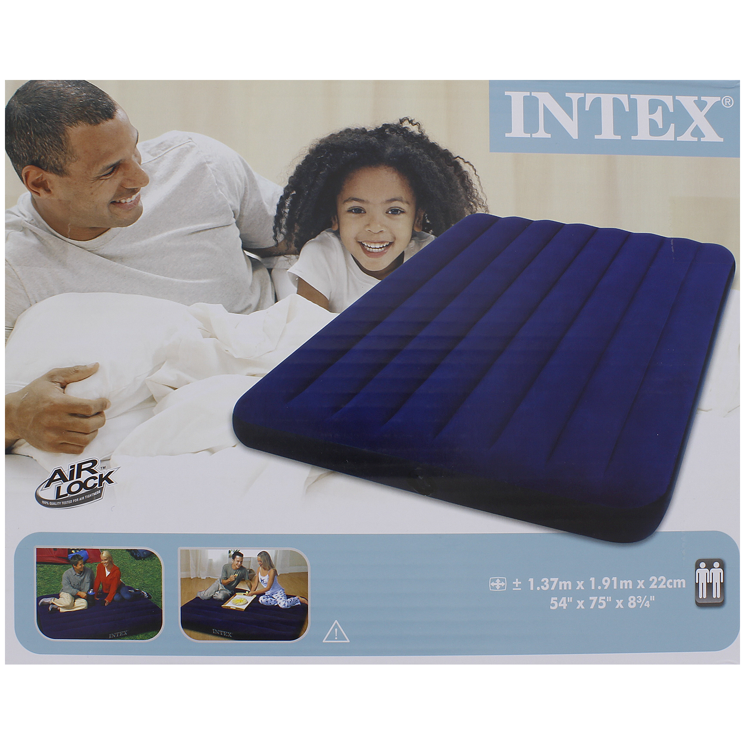 Intex luchtbed 2 persoons for Action luchtbed
