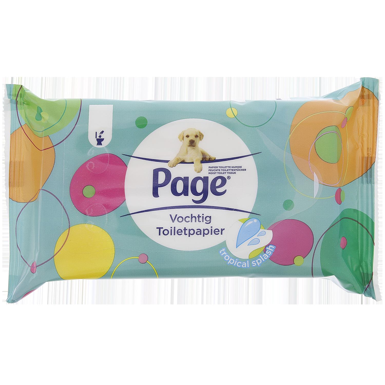 Page Vochtig Toiletpapier.Page Vochtig Toiletpapier Tropical Splash