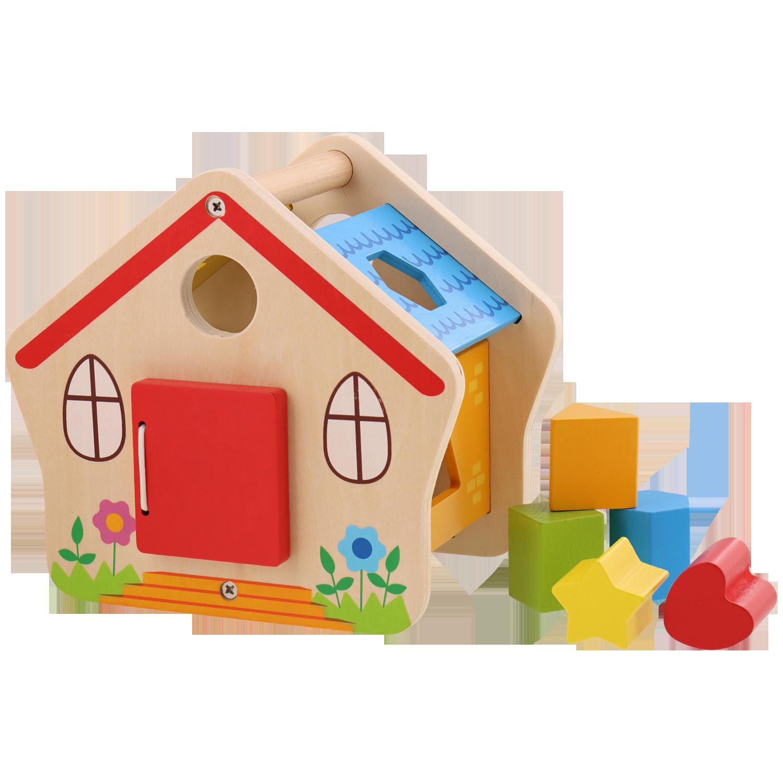 Mini Matters houten sorteerhuisje