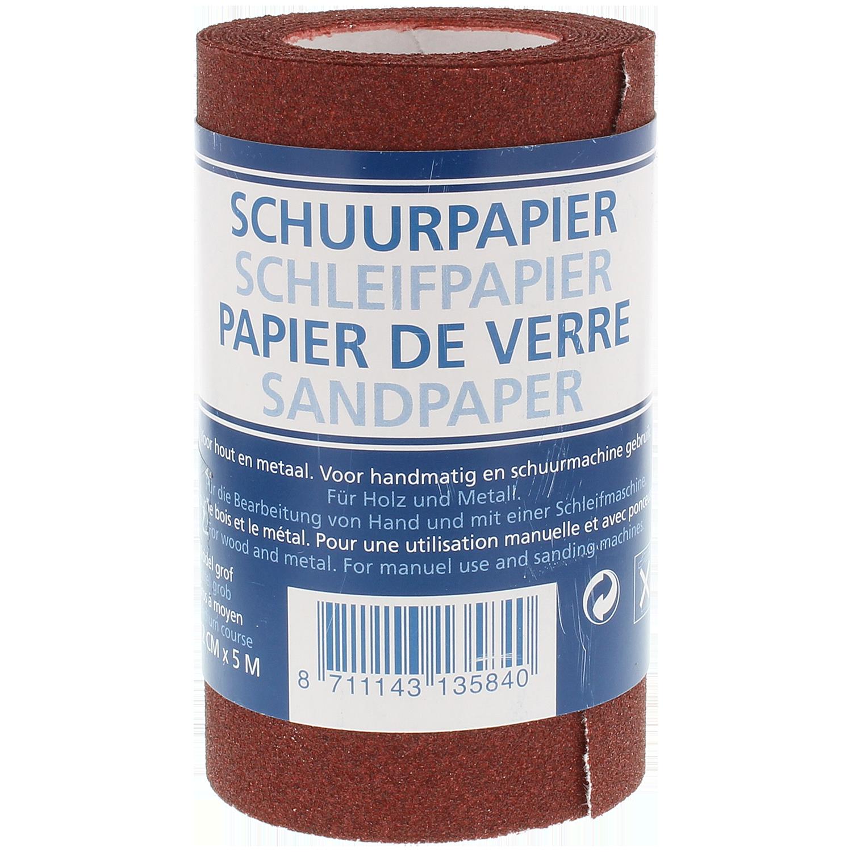 Schuurpapier 12 Cm X 5 M Actioncom