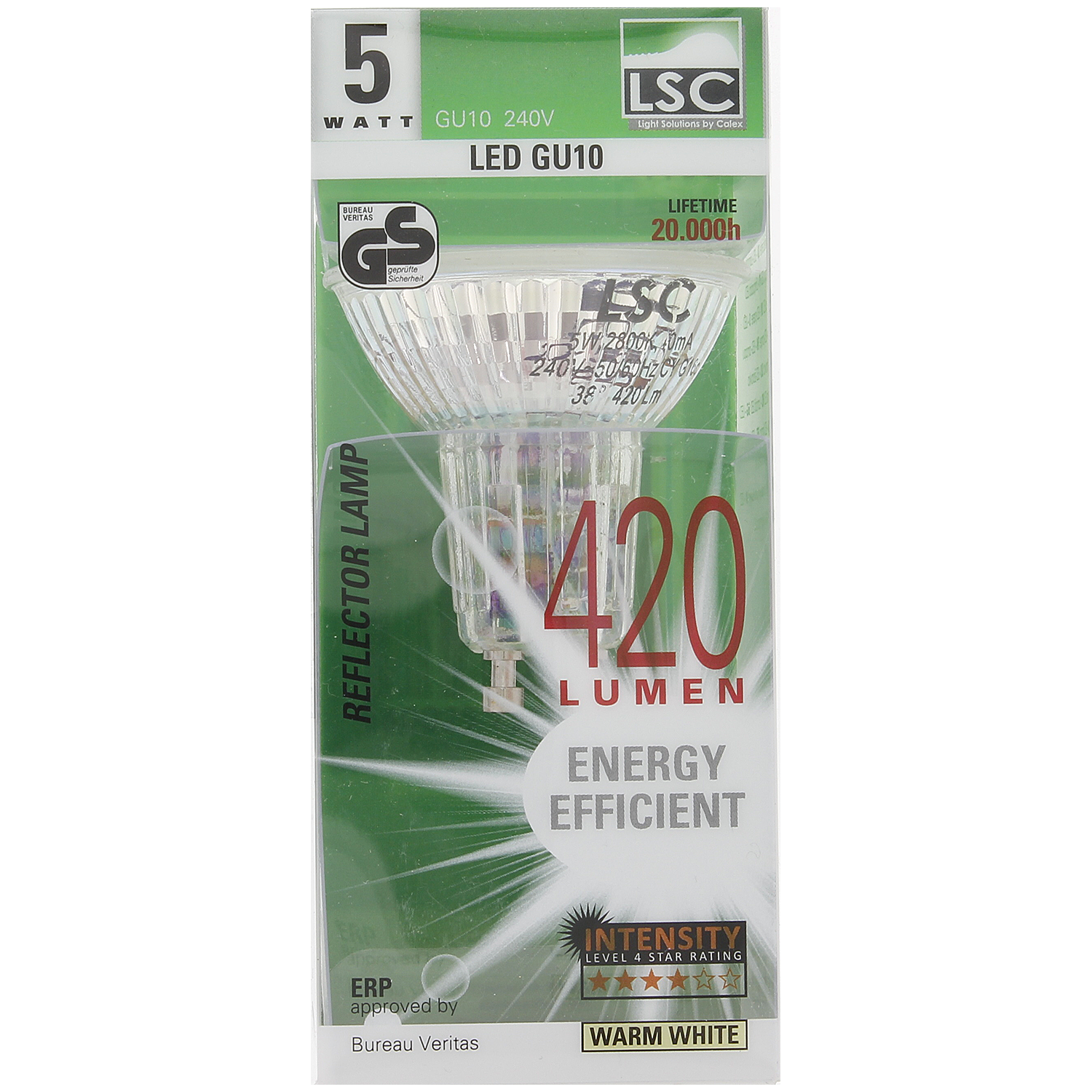 LSC ledlamp 5 watt | 420 lumen | Action.com