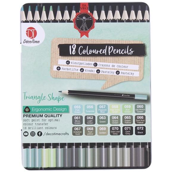 Crayons de couleur Decotime