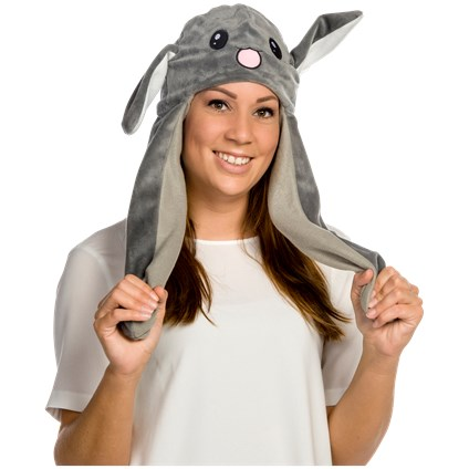 Bonnet avec oreillesmobiles