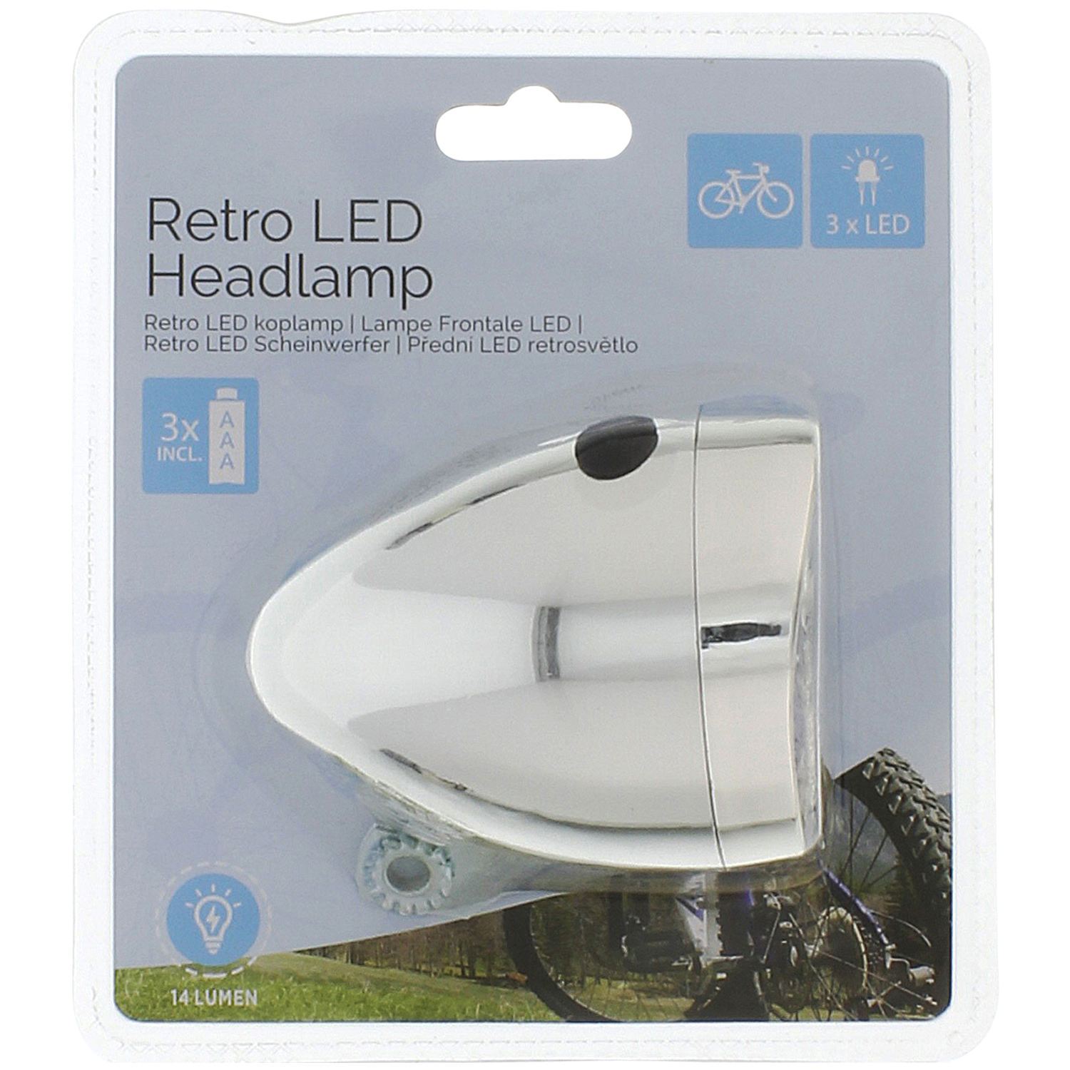 Fietskoplamp Led Actioncom