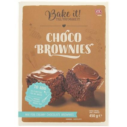 Choco brownies Bake it!