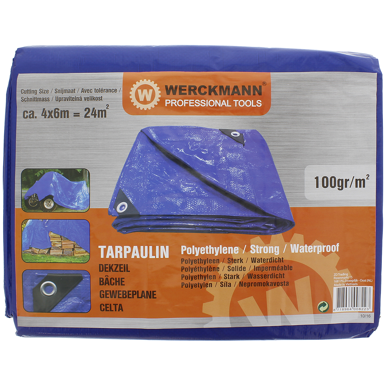 Werckmann dekzeil professional tools ter bescherming for Afdekzeil action