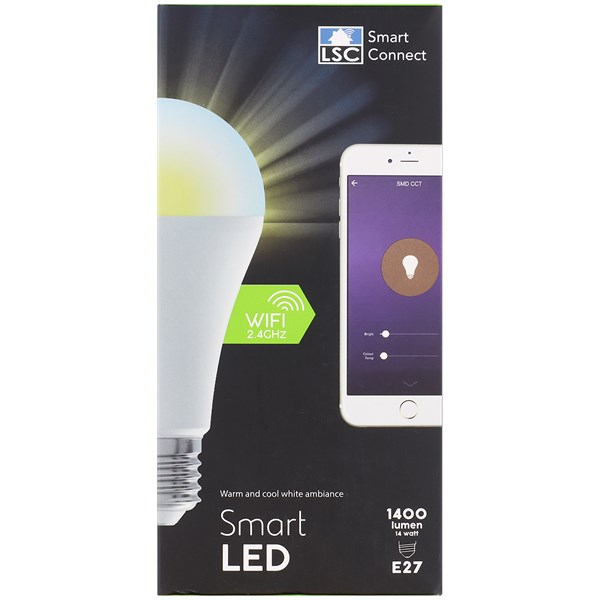 Lampe LED intelligente LSC Smart Connect - 14W - 1400 lumens