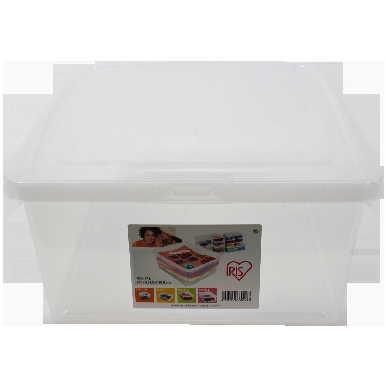 Iris opbergbox 17 liter for Action opbergbox