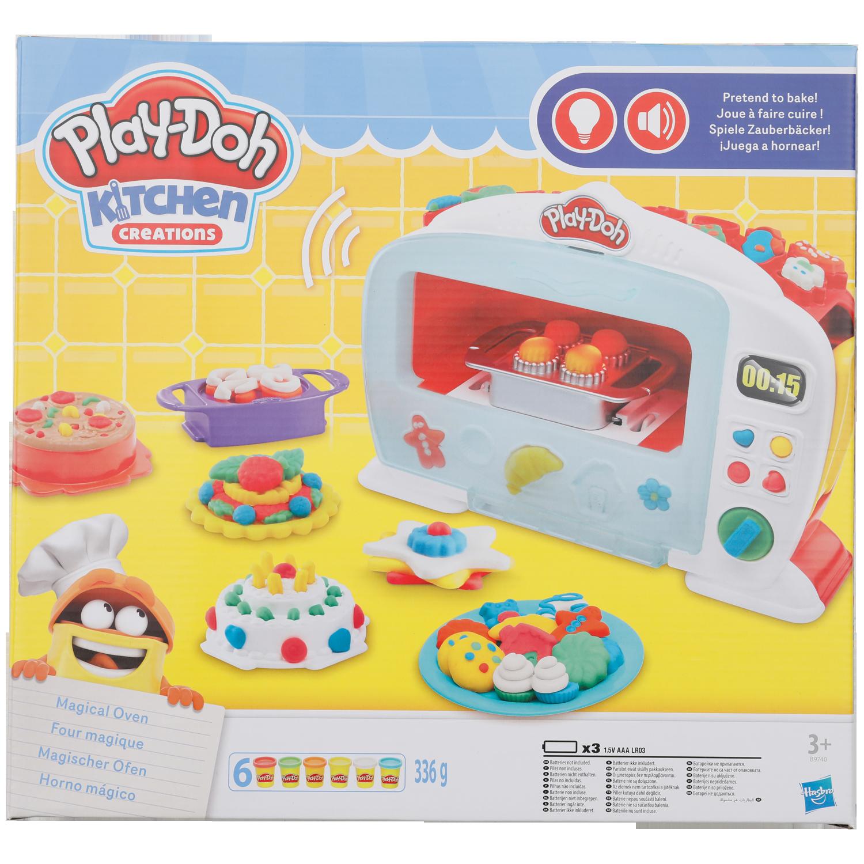 Play-Doh magische oven met licht en geluid