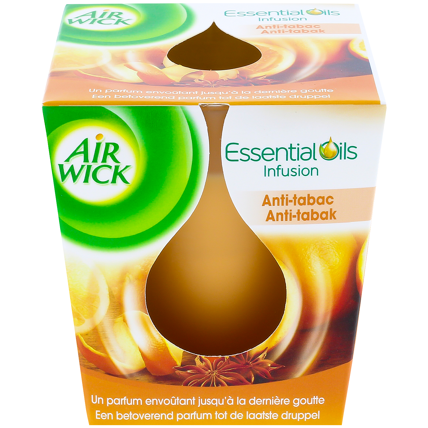 Airwick Kerze Essential Oils Infusion Anti-Tabak | Action.com