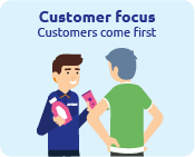 Customer-focused